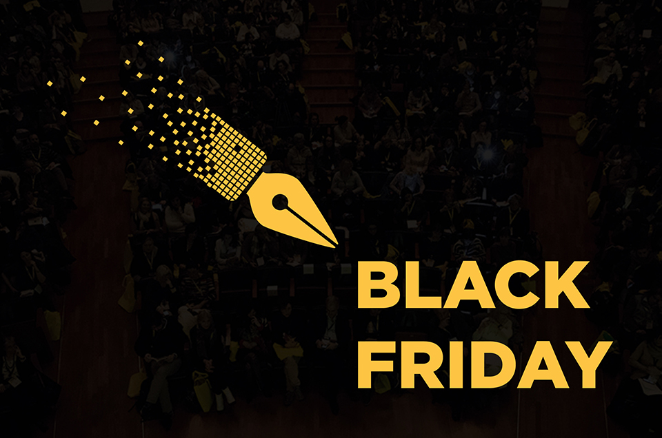 Black Friday, Good Weekend: sconti fino al 25 novembre